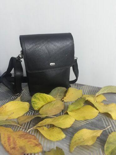 Кожаная мужская сумка Производство турция 2700