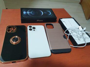 литиевые аккумуляторы бишкек in Кыргызстан | АВТОЗАПЧАСТИ: IPhone 12 Pro Max | 256 ГБ | Белый Б/У