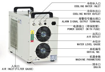 S&A CW-5200 water cooled chiller for cooling UVLED exposure in Kathmandu - photo 2