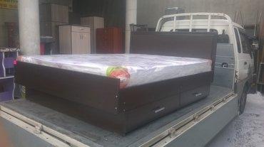 Двух спальный кровать новый качества 100 + доставка в Бишкек