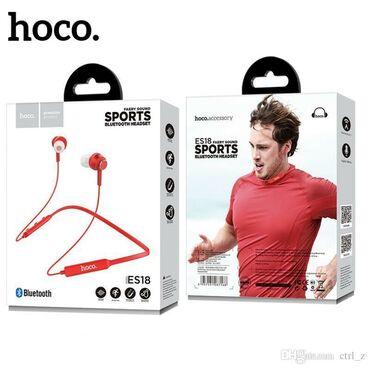 Orginal Hoco simsiz sport qulaqliqBluetooth
