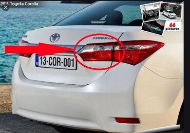 """kredit toyota corolla - Azərbaycan: """"Toyota Corolla 5"""" sağ baqajdakı stop işığı Toyota Corolla 5 sağ baqaj"""