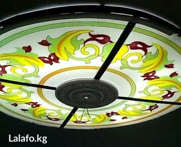 Потолки с подсветкой из стекла.  в Лебединовка