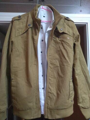 мужские куртки зимние бишкек в Кыргызстан: Продаю деми мужскую куртку, размер М, Новая, заказывали со Штатов, раз