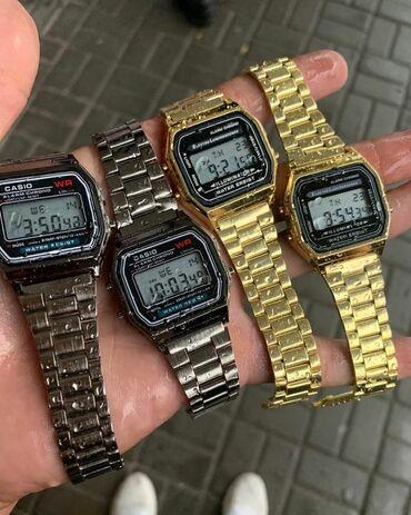 retro vesy в Кыргызстан: Серебристые Мужские Наручные часы Casio