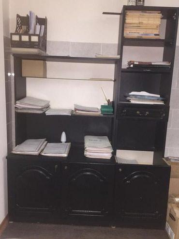 сдача офиса в аренду частной фирме в Кыргызстан: Стильные стеллажи для вашего офиса б/у -их два,общая длина 135
