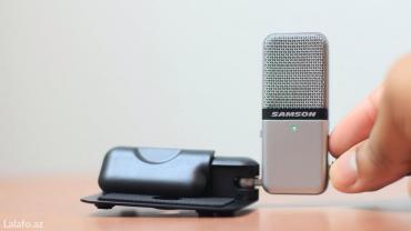 Xırdalan şəhərində Usb studio mikrofon(samson go mic)