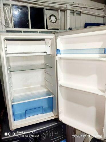 Б/у Серый холодильник