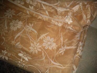 Prodajem nove zavese na metar ili veću količinu.Bež 16m, dužina