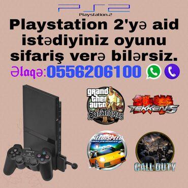 (Playstation 2) PS2'yə aid istədiyiniz oyunu sifariş verə