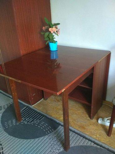 Раздвижной стол советский в хорошем состоянии в Бишкек