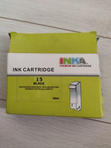 Картридж на принтер, hp Deskjet черный цвет