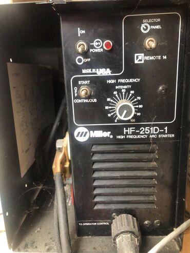 Qaynaq aparatı yeni arqon işləri üçün Miller HF-251