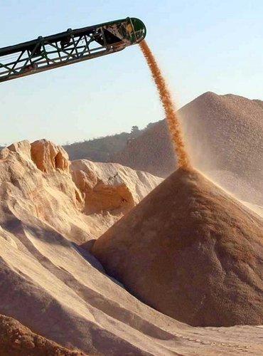 Песок глина гравий камень отсев щебень