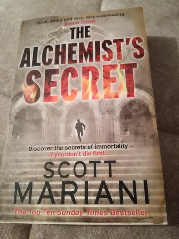 Sport i hobi - Kikinda: NOVO Knjiga The Alchemists Secret - Scott Mariani