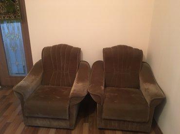 Продаю 2 кресла б/у. И диван двойка. цена договорная.  в Лебединовка