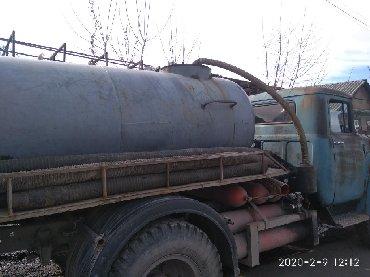 кольцо для туалета в Кыргызстан: Откачка сливных ям туалетов продувка также выезжаем за город 8