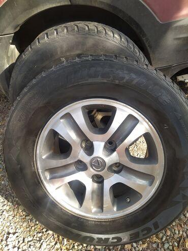 alfa romeo 4c 17 tct в Кыргызстан: Продаю 17 оригинальные диски с зимней резины от Lexus Lx 470.В очень