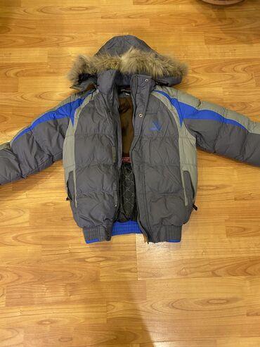 Тёплая зимняя куртка на 9-10 лет