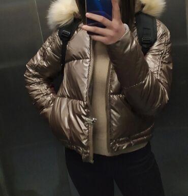 Зимняя, женская куртка. Размер стандарт  Состояние отличное(