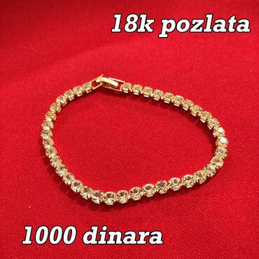 Narukvica - 18k pozlata