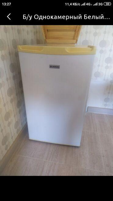 Б/у Однокамерный Черный холодильник Atlant