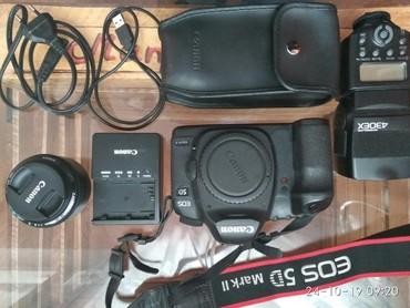 Фотоаппарат Canon Mark2 5D в хорошем состоянии без царапин и