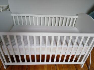 Stalak - Srbija: Krevetac dva u jedan kao nov,beby autosedište, ležaljka za bebe,stalak