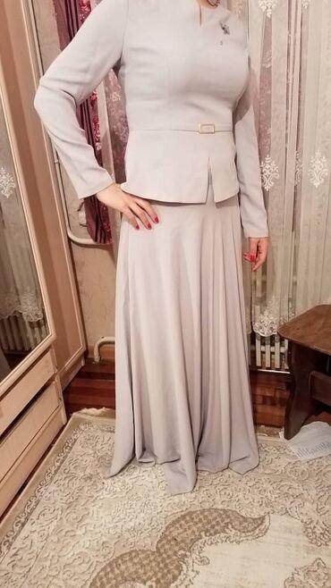 вечерние платья серого цвета в Кыргызстан: Продаю юбочный комплект, отличного качества, абсолютно новый, производ