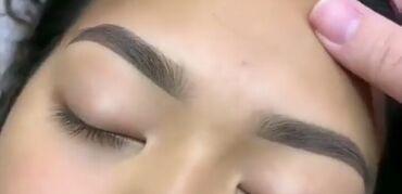 делаем макияж и причёску в Кыргызстан: Перманентный макияж бровей в технике теневая растушевка,пудровое