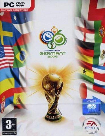 Pc igra fifa world cup 2006                       u ponudi imamo - Beograd