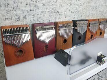 afrika kolqotları - Azərbaycan: Kalimba Yeni keyfiyyətli ağac materialından hazırlanmis Afrika musiqi