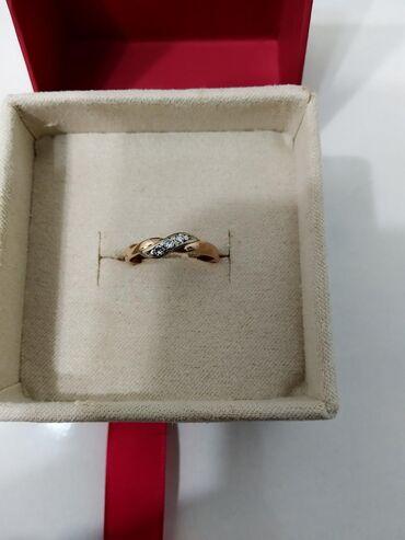 работа с 16 лет в Кыргызстан: Кольцо с бриллиантами, размер 16 Россия 585 пробы, цена 7500