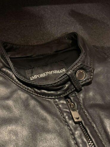 ARMANI kozna jakna,odgovara velicini S ili manji M