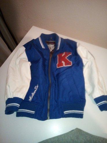 C i a jakna sa duksom 2 u 1 velicina 92 gornji sloj može da se nosi - Kragujevac