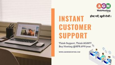 Best Hosting with instant Customer Support - AGM Web HostingWe always
