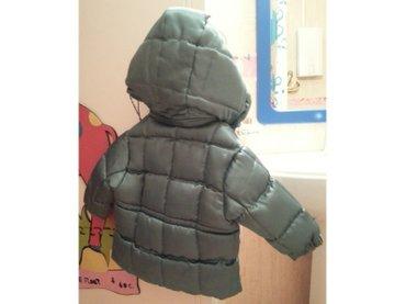 oposite kid debela zimska jakna sa kapuljacom.  Uzrast 1-2 god, jakna  - Beograd