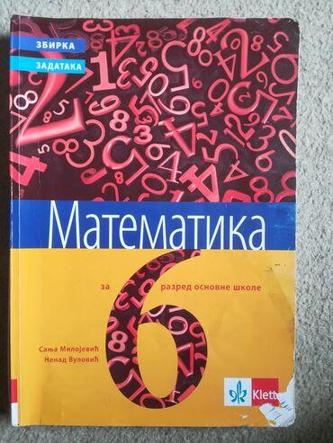 Ostalo | Vranje: Matematika zbirka zadataka 6. razred, Klett, Milojević, Vulović