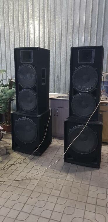 легковой прицеп грузоподъемность 1000 кг в Кыргызстан: Продается музыкальная аппаратура (4колонки, усилитель, пульт, т.е