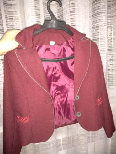 Пиджак школьный - Кыргызстан: Школьная форма для девочки 5-6класс (только пиджак и юбка)