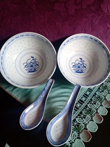Porcelan - Srbija: Sosijere nove sa kasicicama. stari kineski porcelan. i kasicice su