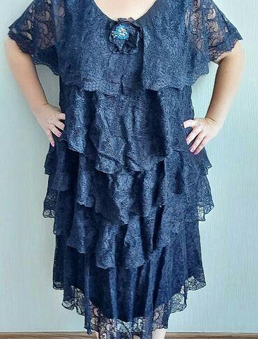 Платье выходное 58 размера  Одевала 4 раза