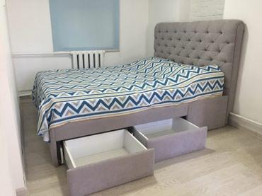 Продаю кровать с мягким изголовьем. в Бишкек