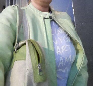 Tommy hilfiger jakne - Srbija: Ženska kožna jakna, nova bez etikete Tommy Hilfiger,. Veličina m/l