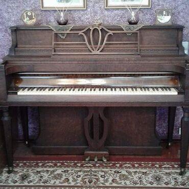 Wikarni antik alman pianinosu.5000min manat KNABE -1920.Demiragacindan