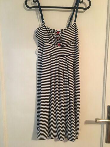 Letnja haljina na štrafte.   Za dodatne slike i mere slobodno pišite