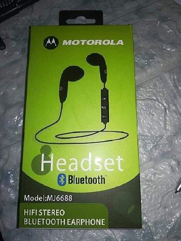 Motorola w180 - Srbija: Motorola Bluetooth Stereo Handsfree SlusaliceAutomatsko