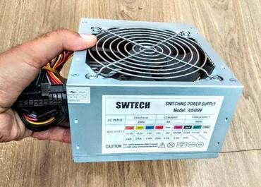 Bakı şəhərində Swtech Pc kompyuter ucun qida bloku 450 watt blok pitaniya
