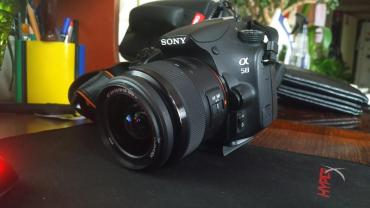фотоаппарат canon 10 мегапикселей в Кыргызстан: Sony a58 продамПродам свой любимый фотоаппарат, так как есть