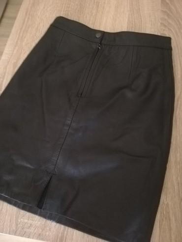 Prada torba je turskoj e - Srbija: Kožna suknja naznačena veličina 36Nenošena,samo je stajala!Kupljena u